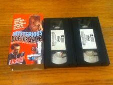 Mysterious Doctor Satan (VHS, 2-Tape Set) 1940 15-episode action serial Rare