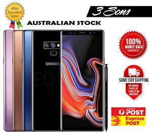 Samsung Galaxy Note 9 SM-N960F 128GB 512GB Unlocked Cheap - AU Stock - As New
