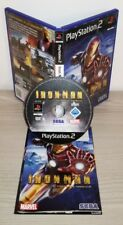 IRON MAN ps2 gioco game Sony Playstation 2 prima stampa completo marvel sega