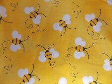 WtW Fabric Traditions Bees Bee Charms Bug Honey Nature Garden Quilt