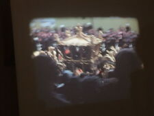 Cine film 16mm colour Trooping of the colour 1950 & 51 Coronation 1953 RARE