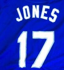 Mitch Jones Team Issue Batting Practice Jersey 2009 Dodgers #17 Size 50