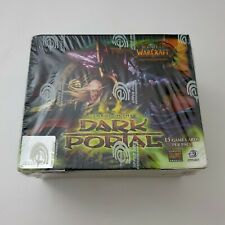 WOW TCG World of Warcraft Through Dark Portal Booster Box Card Game NEW Sealed