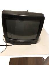 "Matsui 1408R 14"" CRT TV Retro Vintage Gaming TV"