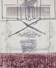 """Guy-Henri DACOS (1940-2012) """"Guimauve"""" 3/50 Abstrait Technique mixte Liège"""