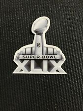 Super Bowl 49 XLIX Helmet Decal New England Patriots vs Seattle Seahawks Sticker