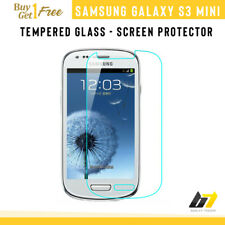 100% Real Samsung Galaxy S3 Mini Genuine Tempered Glass LCD Screen Protector UK