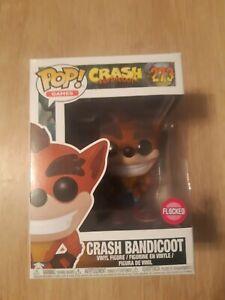 Crash bandicoot pop vinyl - Flocked #273