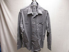 Ketch Men's Dress Gray Single Needle Tailoring Shirt 18 1/2 34/35 Button-Down