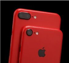 Red Metallic Decal Skin Wrap Sticker for iPhone 6+/6s+ 7 Plus-Free Ship from USA