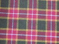 100% COTTON QUILT FABRIC RED/MULTI HOMESPUN 42/44 WIDE  QUILT BTY ARTIES PLACE
