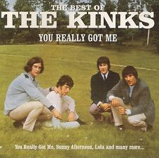 THE KINKS <>YOU REALLY GOT ME <> THE BEST OF THE KINKS <> CD