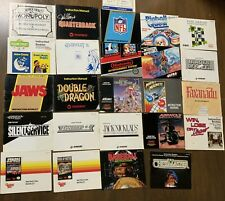 Nintendo NES Manual / Instruction Booklet Lot - 24 Different - No Games Free