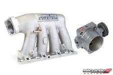 SKUNK2 Intake Manifold Pro Silver+Throttle Body 74mm 02-06 Acura RSX K20A2/K20Z1
