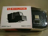 Shure M75ED Tonabnehmer System MM mit Original Nadel Shure 3X