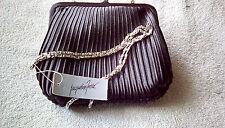 Jacqueline Ferrar black satin purse
