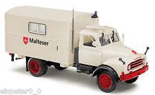 """Busch 50809 Hanomag Al 28 """" MALTESE """", H0 veicolo modello 1:87"""