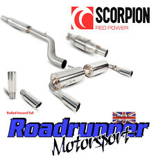 Scorpion Clio 197 Exhaust System Cat Back Resonated With Sports Cat Inward Roll