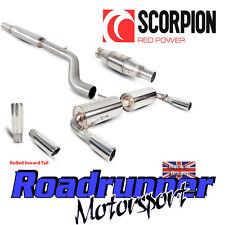 Scorpion Clio 197 Gato Sistema de escape atrás atractivo con gato de Deportes hacia adentro Rollo