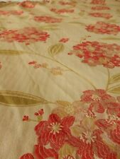 """Dunelm Woven Tapestry Florals Single Curtain & Tieback 66""""w x 59""""d"""