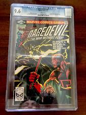 "Daredevil #168 (Jan 1981, Marvel) CGC 9.6!! 1st Elektra) ""KEY"""