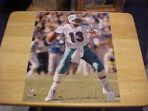 Dan Marino Miami Dolphins Action LICENSED 11X14 Photo Includes Top Loader