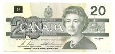 CANADA 20 DOLLARS 1991 XF