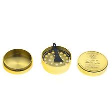 Spice Grinder 4Pieces aleación Metal Chromium Crusher Gold Color