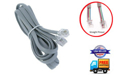 STRAIGHT 6-PIN CABLE REMOTE WIRE CONTROL CORD FOR CRAFTMATIC ADJUSTABLE BED