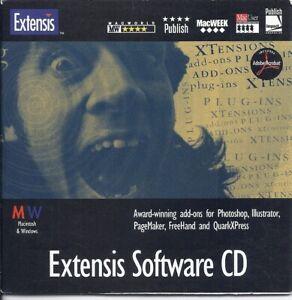 Extensis software CD (PageTool QX Tools Intellihance DrawTools Photo Navigator)
