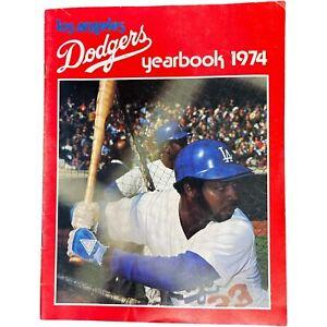 Los Angeles Dodgers Baseball Vintage 1974 Souvenir Yearbook
