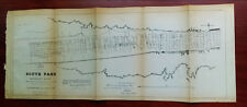 1881 Sketch Map South Pass Mississippi River Location of Jetties Capt. WH Heuer