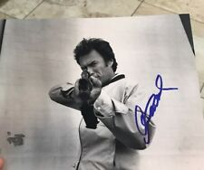CLINT EASTWOOD Autograph 8x10 Signed Photo COA GA