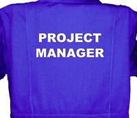 Project Manager Baby, Childrens, Kids, Coverall, Boilersuit, Overall 1-8yrs Boy