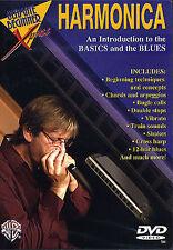 Apprendre à jouer le harmonica débutant DVD Basics blues harp chords leçon tuteur