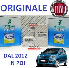 KIT TAGLIANDO FILTRI ORIGINALI + OLIO SELENIA FIAT PANDA 0.9 Natural Power 86CV