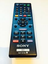 SONY BluRay REMOTE CONTROL For BDP-S1100 BDP-S3100 BDP-S390 BDP-S5100 BDP-S590
