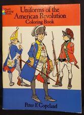 Dover Coloring Book, Uniforms of the American Revolution