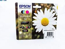 ORIGINAL EPSON 18 TINTE PATRONEN XP102 XP202 XP205 XP212 XP215 XP302 XP305 HOME