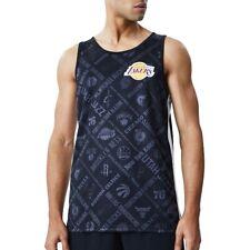 New Era NBA los Angeles Lakers Sin Hombre Camiseta Negro 36476