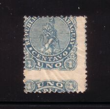 PARAGUAY - 1881 Mi. 11 UNUSED NO GUM WITH PERFORATION ERROR