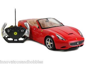 Rastar Licensed Ferrari California 1:12 Scale Radio Remote Control RC Car Toy
