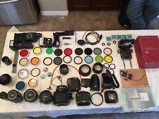 Zenza Bronica S2A 6cm X 6cm Single-Lens Reflex Camera, lenses, filters, etc.