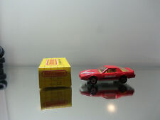 1983 Matchbox '82 Pontiac Firebird SE #12 - Red -Mint Loose W/ Stamped Box 1/62