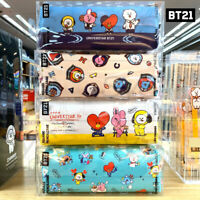 BTS BT21 Official Authentic Goods Square Pencil Case By Kumhong Fancy + Tracking