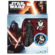 Star Wars The Force Awakens 3.75-Inch Figure Snow Mission Armour Up KYLO REN