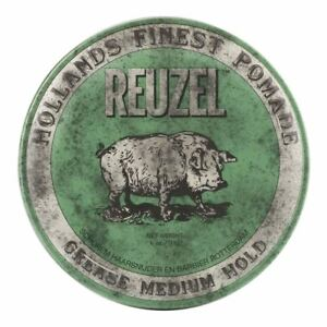 Reuzel Green Pomade 113g - Grease Medium Hold