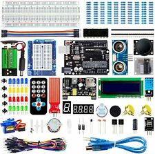 Electronic Project Starter Kit Beginners UNO R3 Board DIY Arduino LCD 1602 Servo