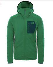 Men's North Face Borod Hoodie Fleece Green SMALL  Retail $ 99.00