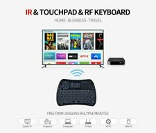 Mini wireless keyboard-Infrared learning backlit remote with touchpad mouse...